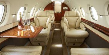 NetJets inside aircraft